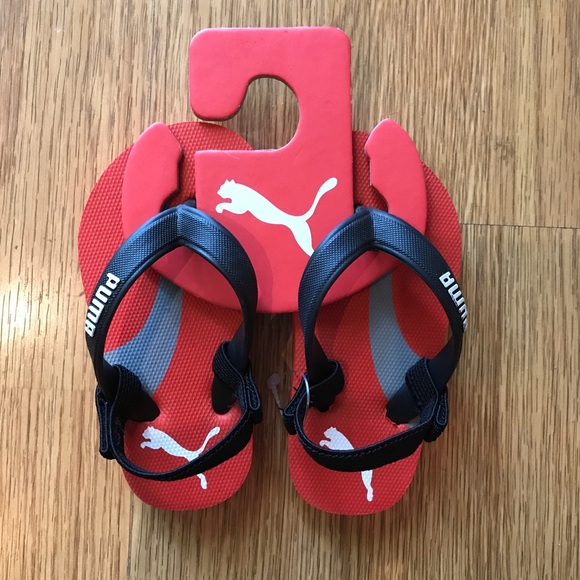 toddler puma flip flops